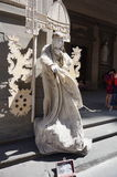 Musicista ambulante a Firenze Fotografie Stock