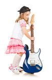 Musicista del bambino Immagine Stock Libera da Diritti