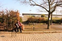 Musicista della Germania Immagine Stock