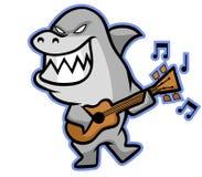 Musicista dello squalo royalty illustrazione gratis