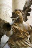 Musicista di angelo Fotografie Stock Libere da Diritti