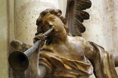 Musicista di angelo Fotografia Stock Libera da Diritti