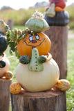 Musicista di Halloween Immagini Stock
