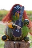 Musicista di Halloween Fotografia Stock Libera da Diritti