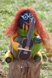 Musicista di Halloween Fotografia Stock