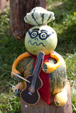 Musicista di Halloween Fotografie Stock