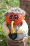 Musicista di Halloween Fotografie Stock Libere da Diritti