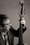 Musicista di jazz immagini stock libere da diritti
