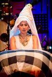 Musicista e Cantante tradizionali femminili. Fotografie Stock Libere da Diritti