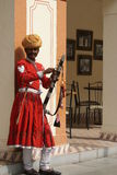 Musicista piega del Ragiastan indiano Immagine Stock Libera da Diritti