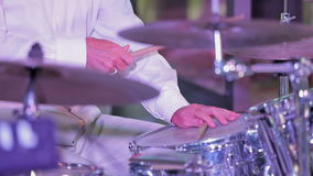 Musicista professionista Playing The Drums archivi video
