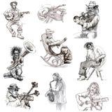 Musicisti royalty illustrazione gratis