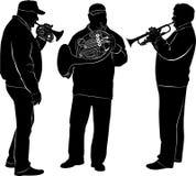 musicisti Immagini Stock Libere da Diritti
