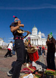 Musicisti ambulanti Fotografia Stock