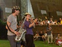 Musicisti ambulanti Fotografia Stock Libera da Diritti