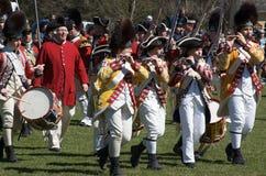 Musicisti britannici dell'esercito Fotografia Stock