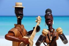 Musicisti da legno Fotografie Stock Libere da Diritti