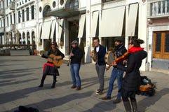 Musicisti della via Fotografia Stock