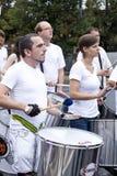 Musicisti di carnevale Immagine Stock Libera da Diritti
