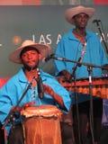 Musicisti di Las Americas fotografie stock