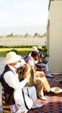 Musicisti nel porto di La Goletta Immagini Stock Libere da Diritti