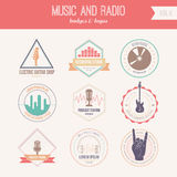 MusicLabel royalty free illustration