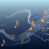 Musicnotes Royalty Free Stock Photos
