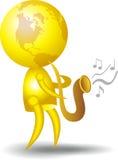musicus vector illustratie