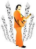 Musicus royalty-vrije illustratie
