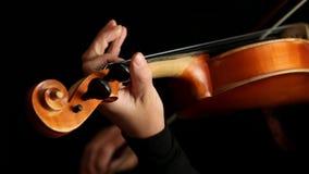 Musicus het spelen viool