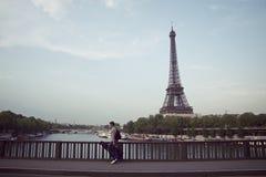 Musicus van Parijs Royalty-vrije Stock Afbeelding