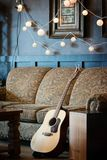 Musicusruimte Royalty-vrije Stock Foto's