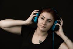Musik är min förälskelse, passion, låter mig känna mig fritt royaltyfri bild