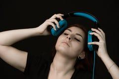 Musik är min förälskelse, passion, låter mig känna mig fritt royaltyfri foto