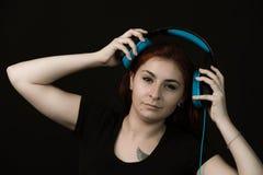 Musik är min förälskelse, passion, låter mig känna mig fritt royaltyfria bilder