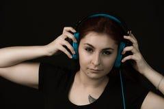 Musik är min förälskelse, passion, låter mig känna mig fritt arkivbilder