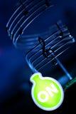Musik är på Royaltyfri Fotografi