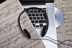 musik Royaltyfri Fotografi