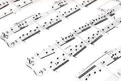 Musik stockfoto