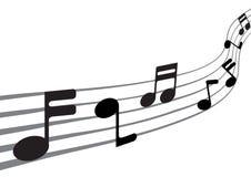 Musik-Anmerkungen Lizenzfreies Stockbild