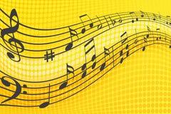 Musik-Anmerkungen Lizenzfreie Stockfotos