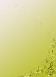 Musik-Anmerkungs-Briefpapier-Hintergrund-Geschenk Stockfoto