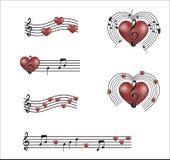 Musik av min hjärta Royaltyfri Fotografi