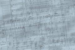 Musik beachtet Hintergrund Stockbilder