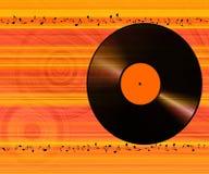 Musik beachtet Hintergrund Stockfotografie