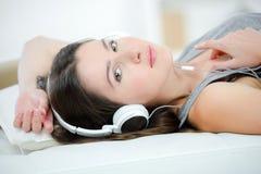 Musik blockiert Welt heraus Stockfotografie
