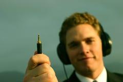 Musik in der Hand Lizenzfreies Stockfoto