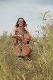 Musik in der Natur Stockbilder