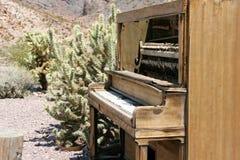Musik in der Wüste lizenzfreie stockfotografie