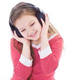 Musik, elektronik, barn och ungdom royaltyfri bild
